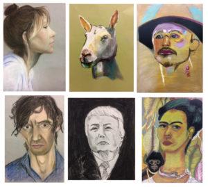 cursus portrettekenen 2017